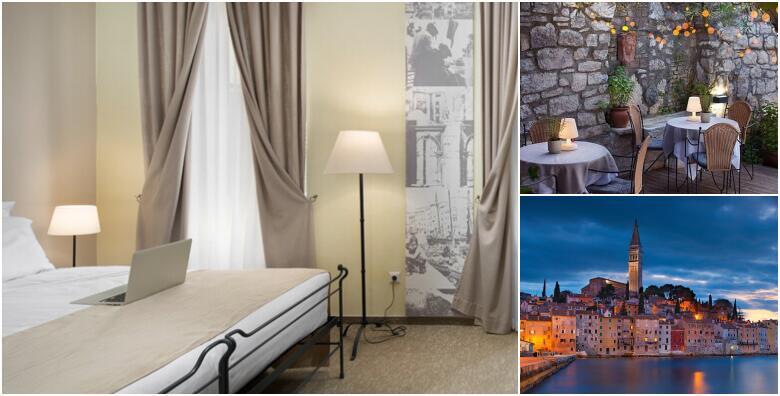 Boravak u srcu Rovinja - 2 ili 3 noćenja za 2 osobe s doručkom + gratis ponuda za 1 dijete do 12 godina u Heritage hotelu Angelo d'Oro 4* uz romantičnu večeru od 1.192 kn!
