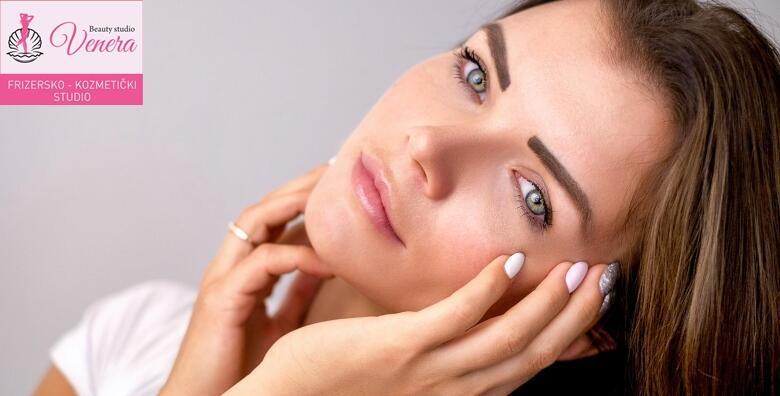 Vrhunski 5u1 tretman njege lica - radiofrekvencija, piling, čišćenje, maska i masaža za 199 kn!