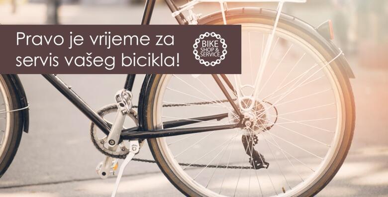 POPUST: 41% - Servis bicikla - omogućite dugovječnost svog dvokotačnog ljubimca kako biste se ugodno i sigurno vozili servisom u Jastreb Bikeu za samo 89 kn! (Jastreb Bike)
