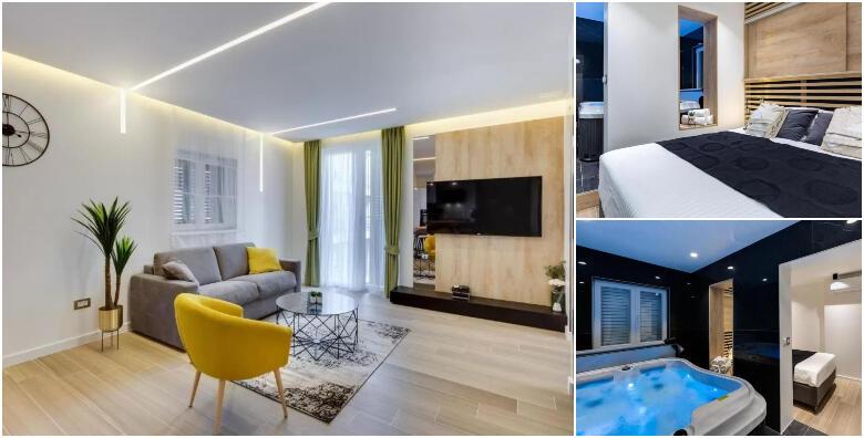 Zadar - 1 ili 2 noćenja u Marcius Luxury Apartment 4* za do 4 osobe + gratis smještaj za 2 djece do 14 god. uz neograničeno korištenje jacuzzija i finske saune od 720 kn!