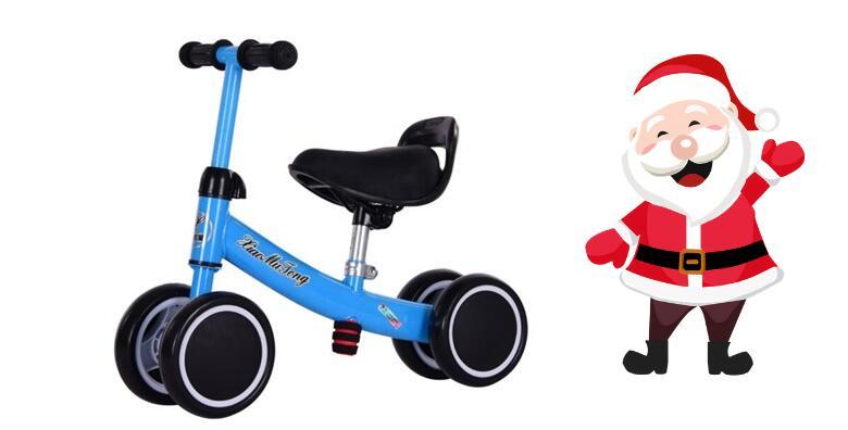 Djed Božićnjak je uranio - odaberite dječju guralicu na 4 kotača ili dječji bicikl bez pedala i priuštite svojim mališanima nezaboravan Božić za 199 kn!
