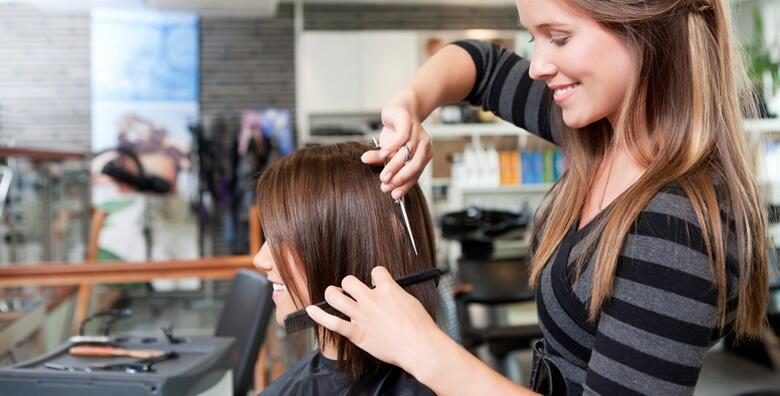 Žensko šišanje i pranje kose već od 39 kn!