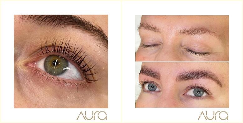 LASH LIFT ili BROW LIFT u Aura beauty salonu po odličnoj cijeni za samo 100 kn!