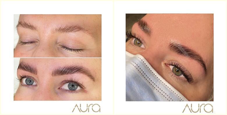 Profesionalna edukacija lash i brow lift tretmana u trajanju 8 sati s uključenim certifikatom u organizaciji Aura beauty salona za 600 kn!
