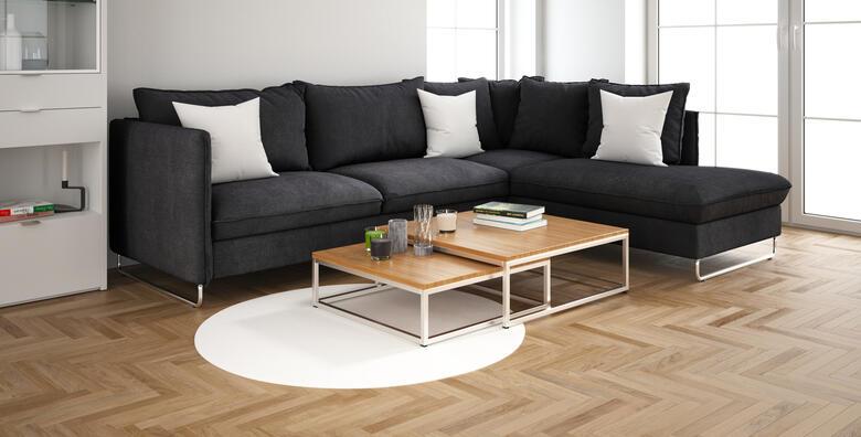 Čišćenje namještaja - L kutna garnitura uz gratis čišćenje tepiha veličine do 2 m2 za 168 kn!