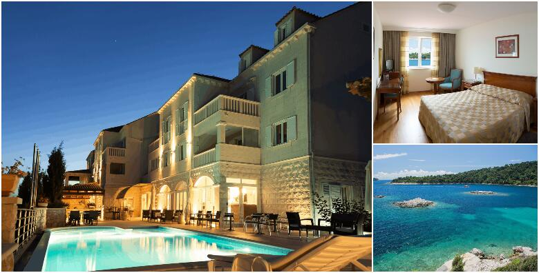 Otok Šipan - 2 noćenja s polupansionom za dvoje u predivnom Hotelu Božica 4* od 1.500 kn!