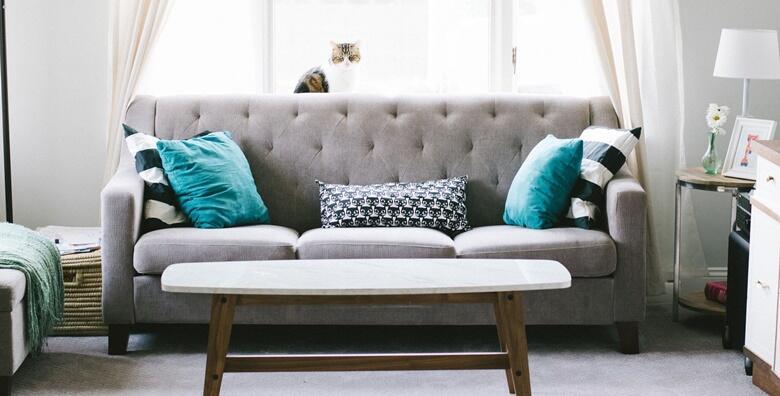 POPUST: 52% - Kemijsko čišćenje L kutne garniture uz gratis pranje jednog tepiha veličine do 2 m2 ili kemijsko čišćenje trosjeda, dvosjeda i fotelje od 168 kn! (Loir Pearl Clean)