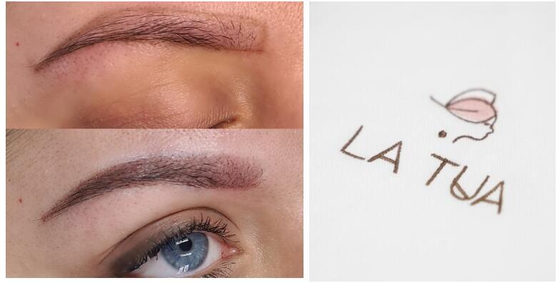 Puder obrve s uključenim korekcijama u Beauty salonu LA TUA za 1.399 kn!