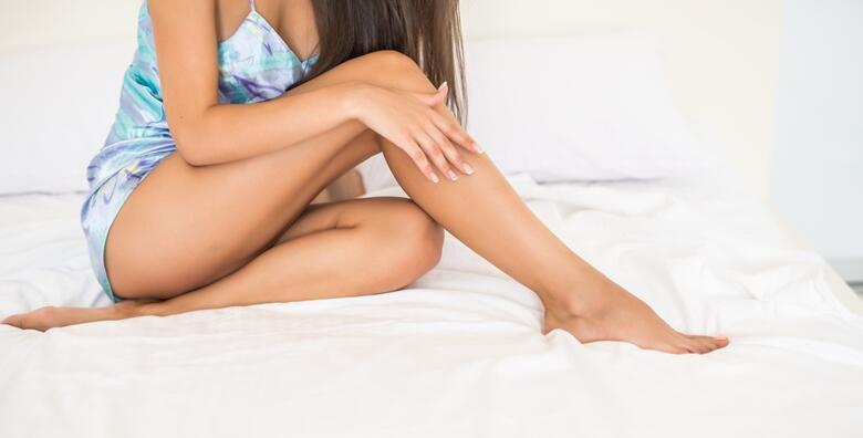 Brazilska depilacija, depilacija cijelih nogu i pazuha hladnim voskom u salonu La Tua za 245 kn