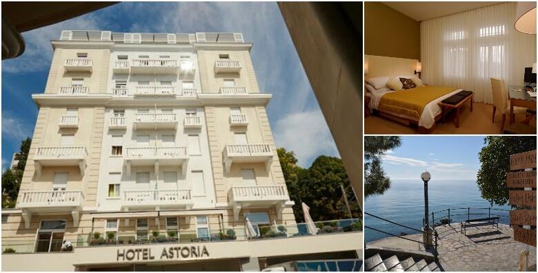 OPATIJA - savršen odmor u Hotelu Astoria 4* uz 1 ili više noćenja s doručkom za 2 osobe u luksuznoj superior sobi i gratis ponuda za 2 djece od 676 kn!