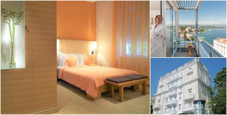 OPATIJA - 1 ili više noćenja s polupansionom za 2 osobe u luksuznoj superior sobi od 699 kn!