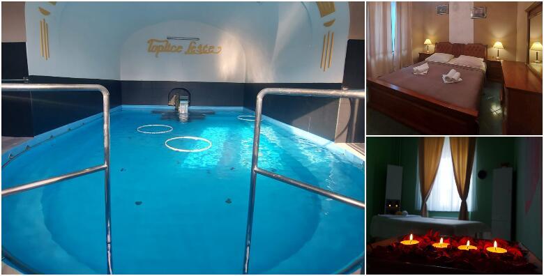 TOPLICE LEŠĆE - savršeno proljetno opuštanje uz 2 noćenja s polupansionom za 2 osobe + gratis ponuda za djecu do 2 god. u sobi s termalnom vodom za 899 kn!