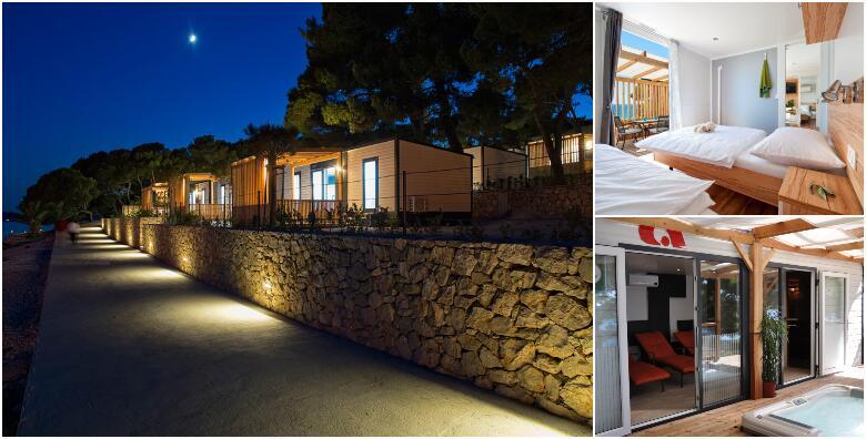 Pakoštane - 2 noćenja za do 4 osobe + 1 dijete do 12 godina u prekrasno uređenim mobilnim kućicama u Camping Kozarica 4* od 860 kn!