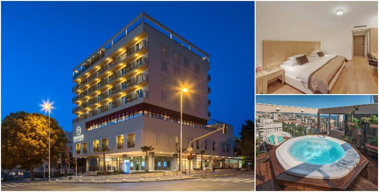 Wellness u Splitu - uživajte u pogledu na Brački kanal uz 2 noćenja s doručkom i ručkom za dvoje + gratis smještaj za dijete do 12 god. u Dioklecijan Hotel & Residence 4* za 1.500 kn!