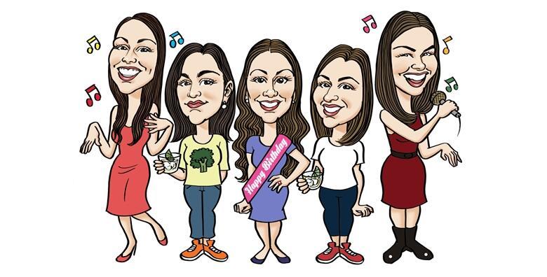Poklonite originalnu i unikatnu portretnu karikaturu A4 dimenzije kao poklon za rođendan, godišnjicu braka, mladencima ili za bilo koju drugu prigodu od 299 kn!