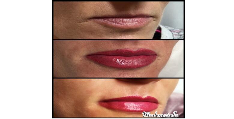 Mikropigmentacija usana s uključenim korekcijama u salonu ljepote Mademoiselle za 2.400 kn!
