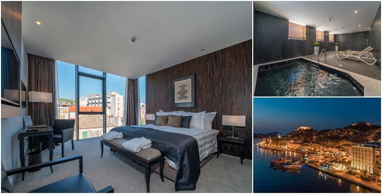 ŠIBENIK - predahnite u luksuznom Hotelu Bellevue 4* i uživajte u wellness i spa zoni uz 2 noćenja s polupansionom za dvoje + gratis paket za 2 djece do 11,99 godina za 1.499 kn!