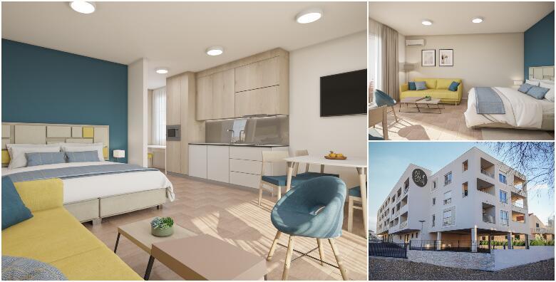 VODICE - 2 noćenja s doručkom za 2 osobe + gratis ponuda za 1 dijete do 5,99 godina i korištenje bazena u apartmanu novouređenog Arancini Residence 3* za 1.387 kn!