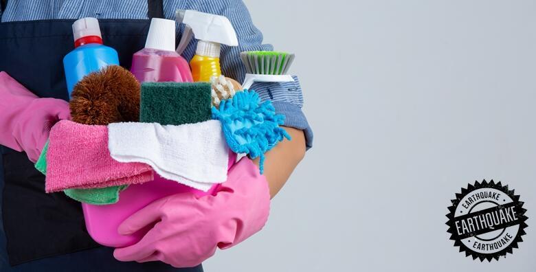 Ponuda dana: Unesite svježinu u vlastiti dom bez muke uz čišćenje stana ili kuće do 60 m2 ili 150 m2 s uključenim čišćenjem prozora od 299 kn! (POTRES j.d.o.o.)