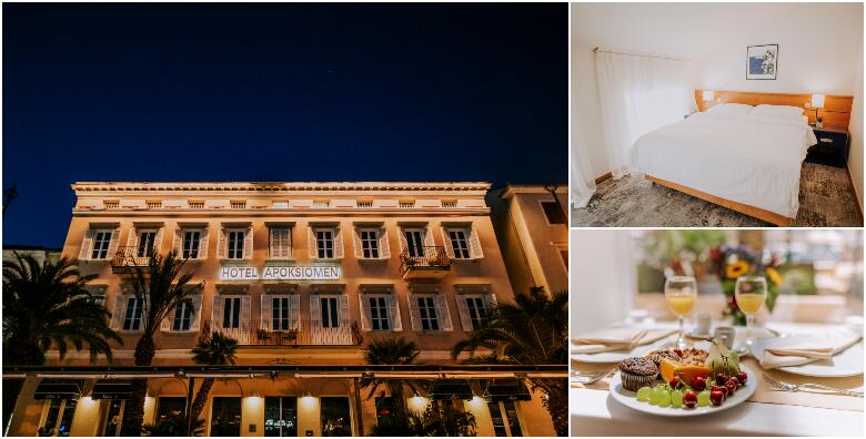 Mali Lošinj - 2 noćenja s doručkom za 2 osobe u Hotelu Apoksiomen 4* od 1.200 kn!