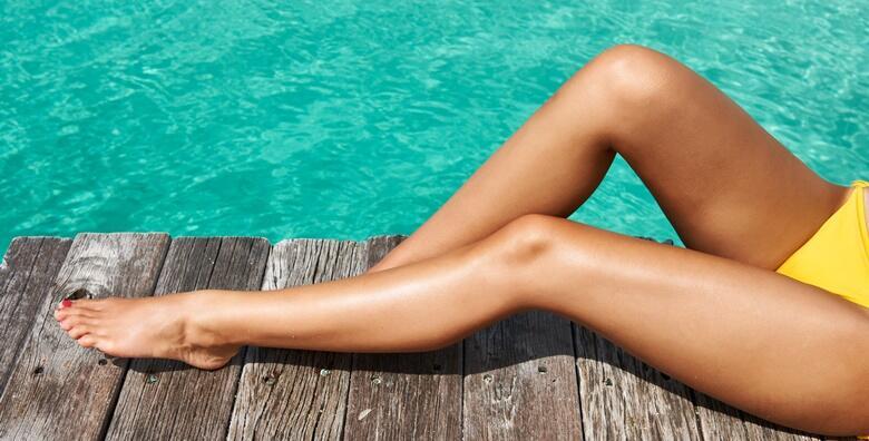 Depilacija cijelih nogu i bikini zone voskom u Studiju Tresor za 110 kn!