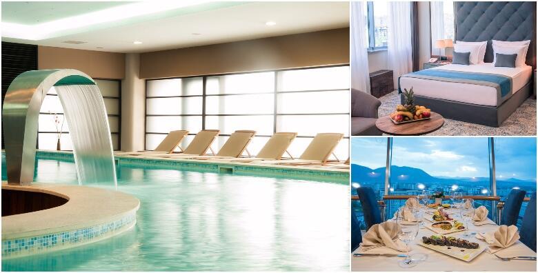 Ponuda dana: WELLNESS ODMOR U SARAJEVU - luksuzni odmor uz 2 noćenja s doručkom za dvoje + gratis paket za 1 dijete do 5 godina u Hotelu Radon Plaza 5* za 2.197 kn! (Hotel Radon Plaza 5*)