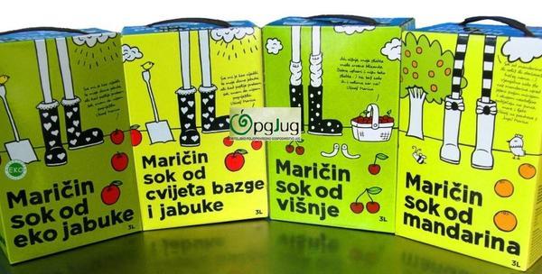 Domaći sokovi, eko jabuka, eko bazga, višnja, mandarina