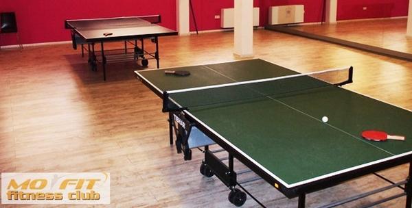 Stolni tenis -  10 sati najma terena, stola i rekvizita