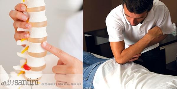 2 parcijalne masaže leđa + info sat o manualnoj terapiji