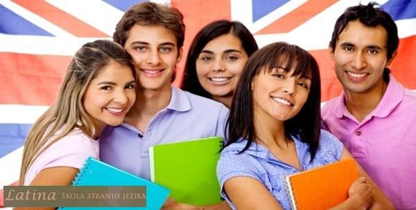 Engleski, njemački ili talijanski jezik - početni intenzivni