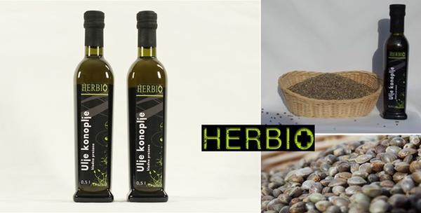Konopljino ulje - 2 boce 100% prirodnog ulja