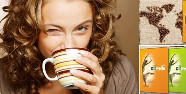 Zelena kava Allsvelte - crna za zdravo mršavljenje
