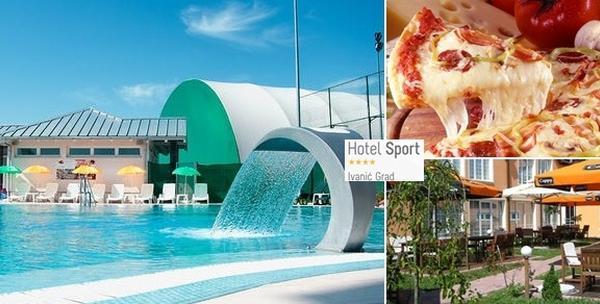 Ulaznica za bazen ili ulaznica i velika pizza