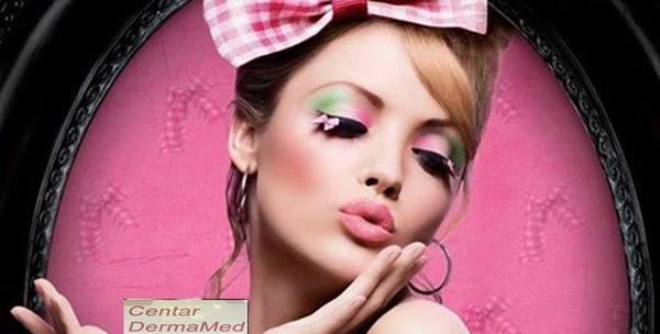 Tečaj šminkanja - 1. ili 2. i 3. stupanj