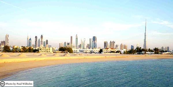 Spojite mjesta Dubai