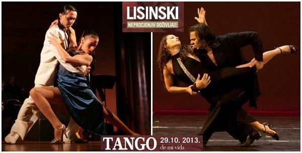 Ulaznice za glazbeno-scenski spektakl Tango de mi vida