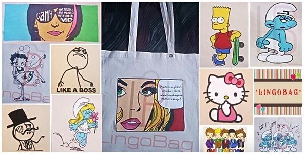 Lingobag ukrasite torbu najdražim likovima ili osobnom foto
