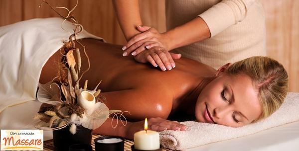 Opuštajuća masaža cijelog tijela prešanim uljima po izboru