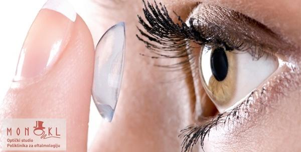 Specijalistički oftalmološki pregled za meke kontaktne leće