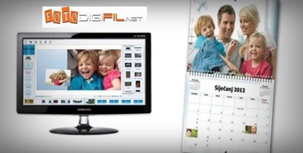 Fotokalendar dizajniran prema Vašem izboru