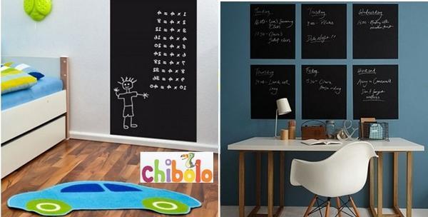 Školska ploča - dekorativna naljepnica za zid