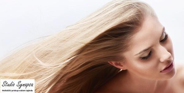 Intenzivno obnavljanje kose i fen frizura