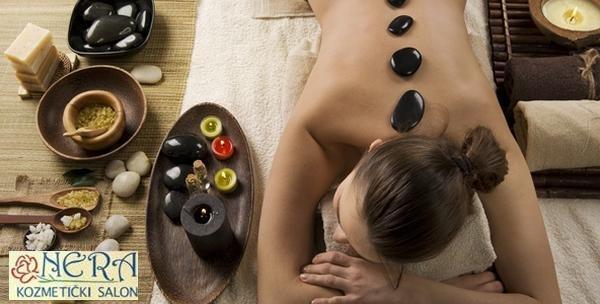 Hot stone masaža i aromaterapija tijela