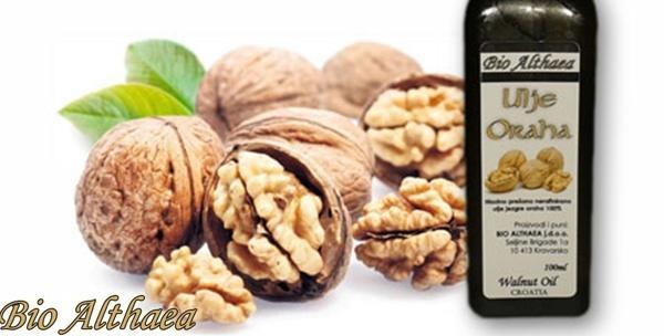 Ulje oraha, sikavice ili od sjemenki grožđa