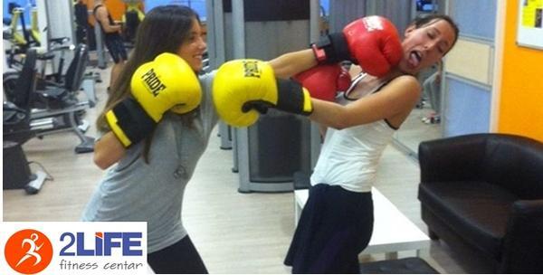 Grupni treninzi boksa, kettlebella (girja) ili core fita