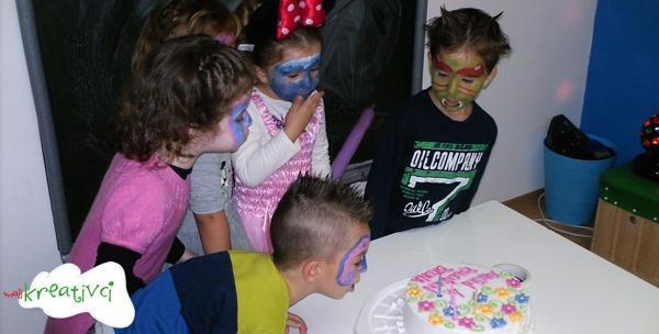 Rođendan - 2h edukativno kreativne zabave