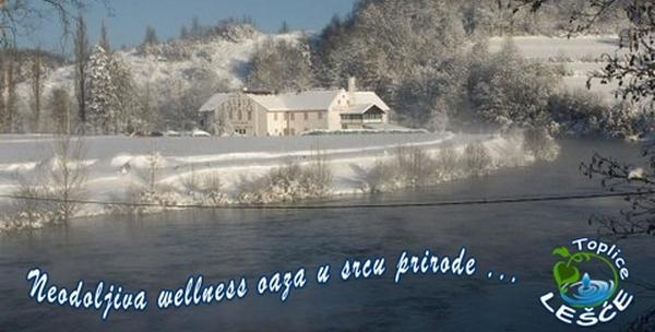Toplice Lešće - 3 wellness dana s polupansionom za dvoje