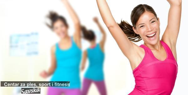 Hula hoop dance & body workout, lambaerobica, zumba ili reggaeton – mjesečna članarina za 99kn!