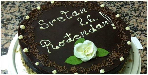 Torta - schwarwald, nutela, jaffa ili cheesecake s natpisom