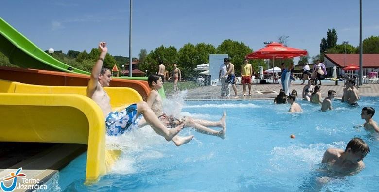 POPUST: 49% - Kupanje u Termama Jezerčica! 1 noćenje s polupansionom za 2 osobe uz neograničeno korištenje bazena i fitnessa uz popuste na masaže za 499 kn! (Terme Jezerčica)